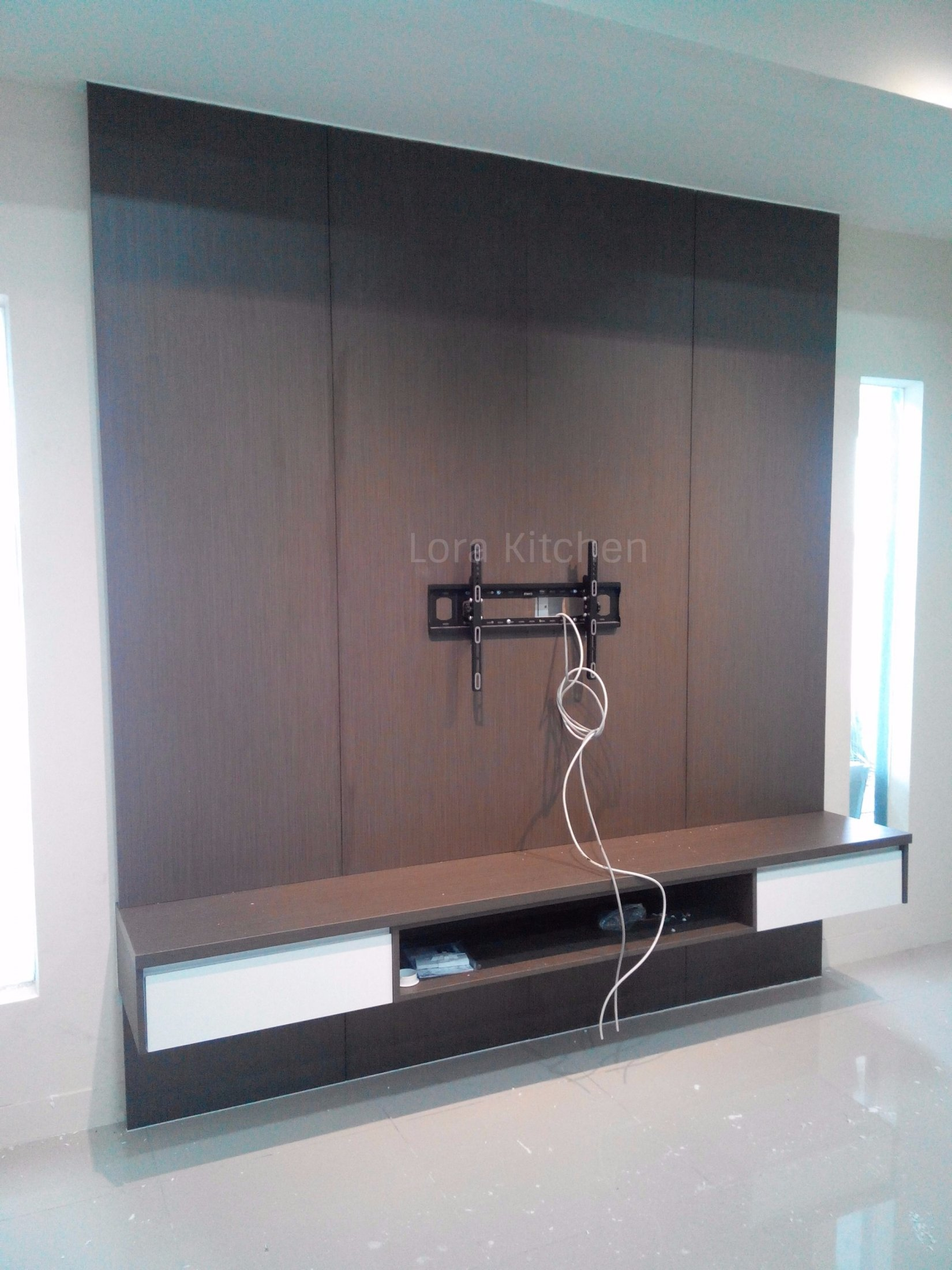 Custom Made TV Shoes Storage Cabinet In Malaysia Lora Kitchen