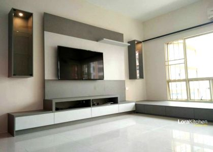 Lora Kitchen Design - Designer TV Cabinet