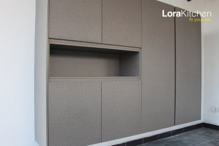 Lora Kitchen Design - Shoes Cabinet