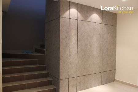 Lora Kitchen Design - Feature Wall