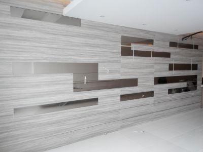 Lora Kitchen Design - Feature Wall