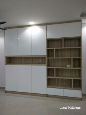 Lora Kitchen Design - Storage & Display Cabinet